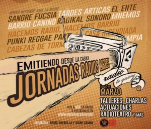 Cartel Jornadas Radio Casika