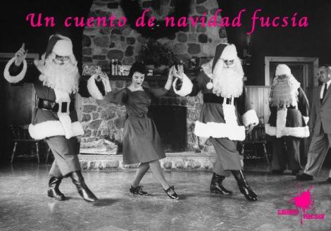 navidad fucsia