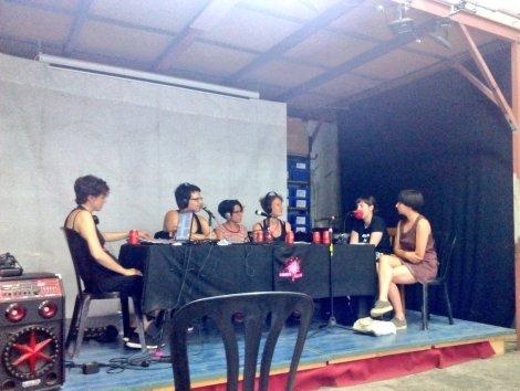 sangre fucsia en ladyfest barcelona en directo