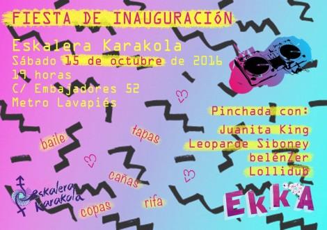 fiesta inauguración ekka