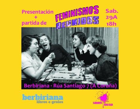 Presentación de Feminismos Reunidos en Berbiriana