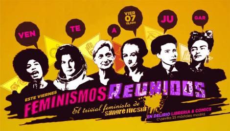 Presentación de Feminismos Reunidos en Móstoles