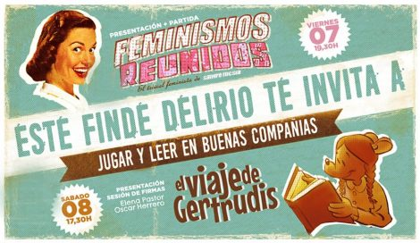 Feminismos Reunidos en librería Delirio