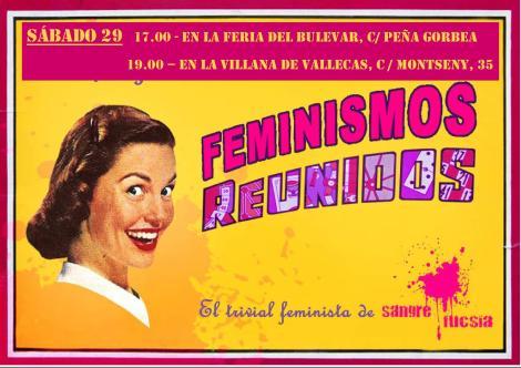 Sangre Fucsia-Feminismos reunidos Vallekas