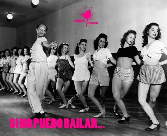 Sangre fucsias - mujeres en clase de ballet