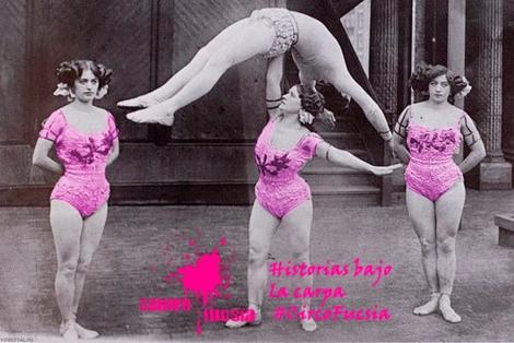 Mujeres forzudas levantando un cuerpo humano
