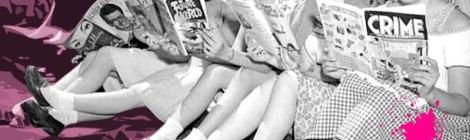 Sangre Fucsia - Mujeres leyendo revista