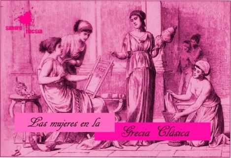 Mujeres en la Grecia clásica